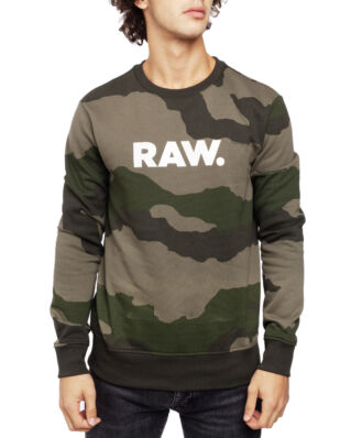 G-Star RAW Graphic 19 Core R Sw L\S Dk Shamrock/Asfalt Ao