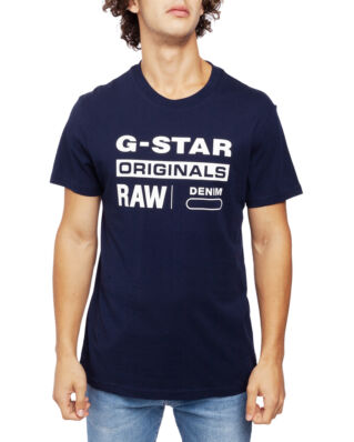 G-Star RAW Graphic 8 R T S\S Sartho Blue