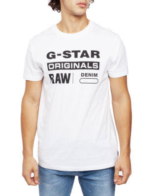 G-Star RAW Graphic 8 R T S\S White