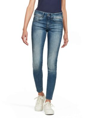 G-Star RAW Lynn Mid Skinny Wmn Antic Blue