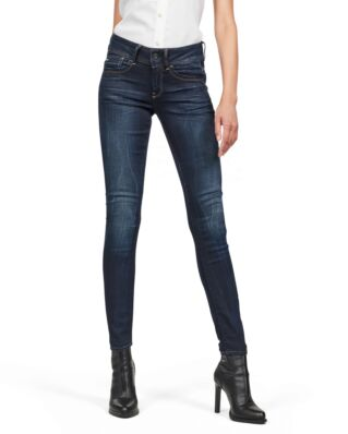 G-Star RAW Lynn Mid Skinny Wmn Faded Blue