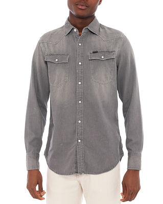 G-Star RAW 3301 Slim Shirt Faded Dust Grey
