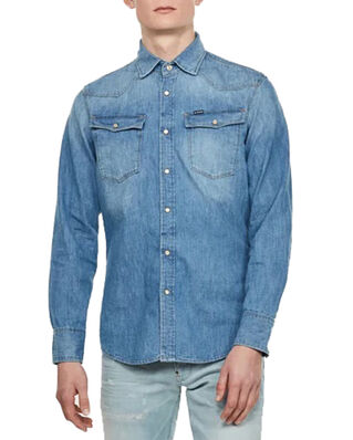 G-Star RAW 3301 Slim Shirt L\S Medium Aged