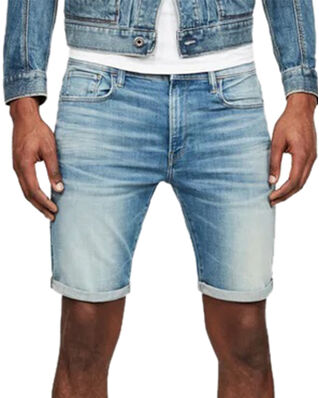 G-Star RAW 3301 Slim Short Vintage Striking Blue