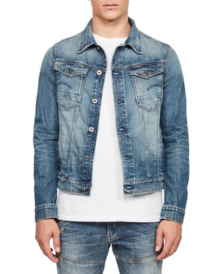 G-Star RAW Arc 3D Slim Jkt Antic Faded Royal Blue