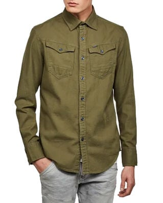 G-Star RAW Arc 3D Slim Shirt L\S Sage