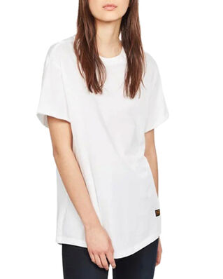 G-Star RAW Lash Fem Loose R T Wmn S\S White