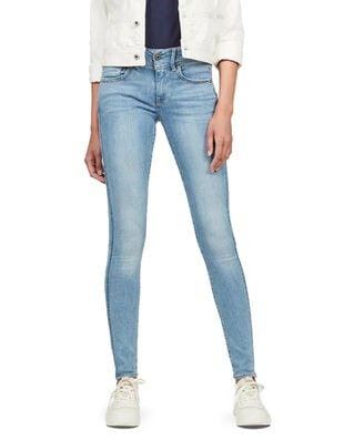 G-Star RAW Lynn Mid Super Skinny Wmn Sun Faded Blue
