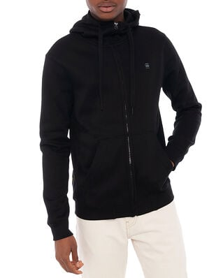 G-Star RAW Premium Basic Zip Sweater Dark Black