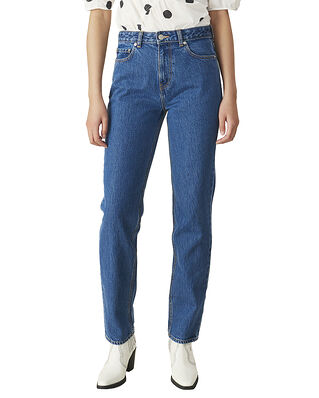 Ganni Basic Denim High-Waisted Jeans
