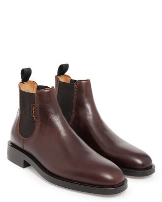 Gant Brockwill Chelsea Sienna Brown