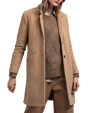 Gant D1. Classic Tailored Coat Dark Khaki
