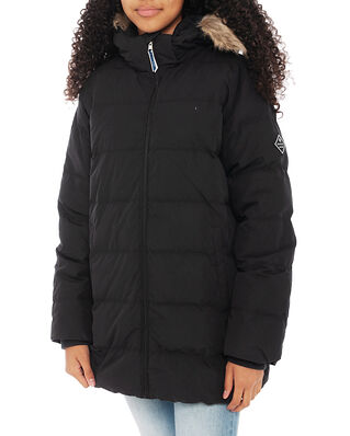 Gant Junior D1. Gant Alta Faux Fur Puffer Black