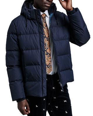 Gant D2. The Alta Down Jacket Evening Blue