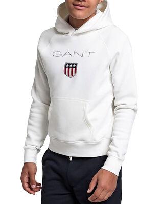 Gant Gant Shield Hoodie Eggshell