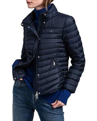 Gant Light Down Jacket Evening Blue