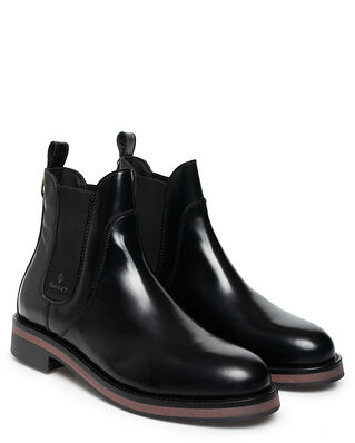 Gant Malin Patent Leather Chelsea Black
