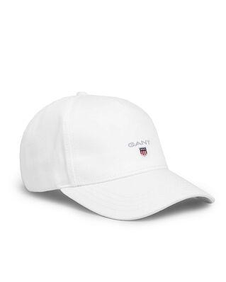 Gant Original Shield Cap White