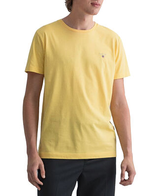 Gant Original SS T-shirt Brimstone yellow