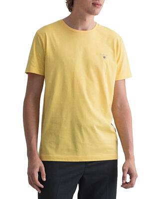 Gant Original SS T-shirt Brimstone yellow
