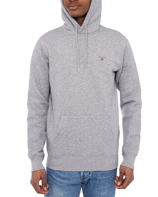 Gant Original Sweat Hoodie Grey Melange