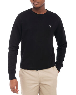 Gant The Original C-Neck Sweat Black