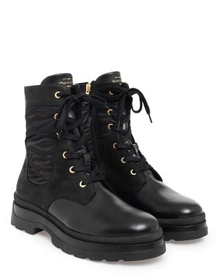 Gant Windpeak Mid Lace Boot Black