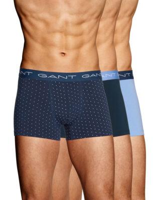Gant 3-Pack Trunk XO Gift Box Cotton Stretch Navy