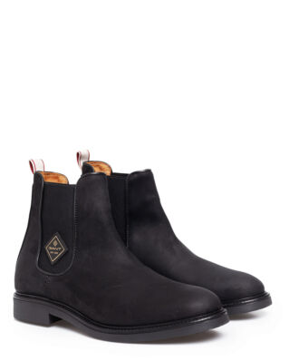 Gant Ashley Chelsea Nubuck Black