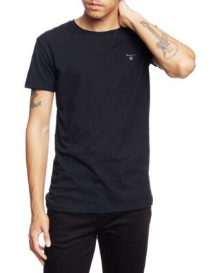 Gant Basic 2-Pack Crew Neck T-Shirt Black