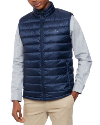 Gant D.1 The Light Down Gilet Marine