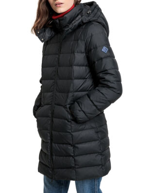 Gant D2. Classic Down Long Jacket Black