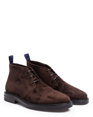 Gant Fargo Mid lace boot Dark Brown