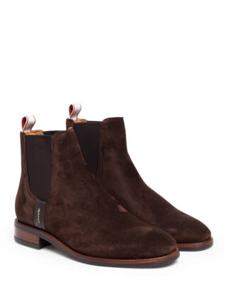 Gant Fay Chelsea Suede Dark Brown