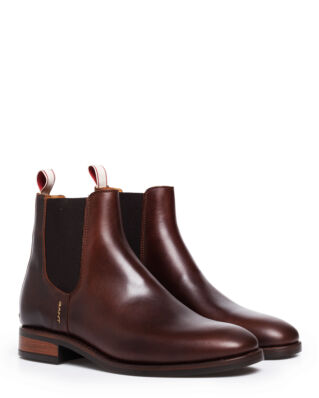 Gant Fay Chelsea Leather Sienna Brown