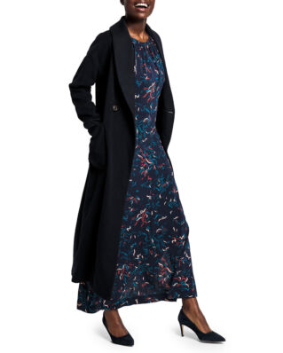 Gant Full Length Coat Navy