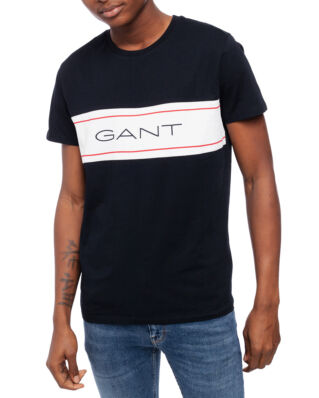 Gant Gant Archive Ss T-Shirt Black