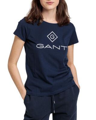 Gant Gant Lock Up Ss T-Shirt Evening Blue