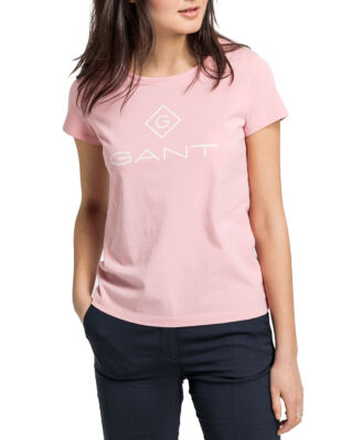 Gant Gant Lock Up Ss T-Shirt Summer Rose