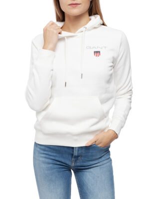 Gant Gant Medium Shield Sweat Hoodie Eggshell