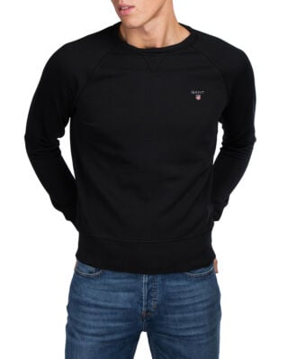 Gant Gant Original C-Neck Sweat Black