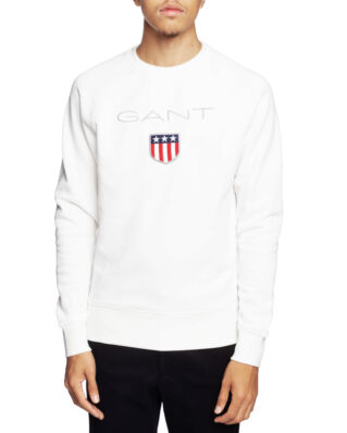 Gant Gant Shield C-Neck Sweat Eggshell