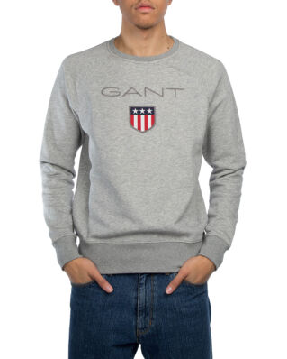 Gant Gant Shield C-Neck Sweat Grey Melange