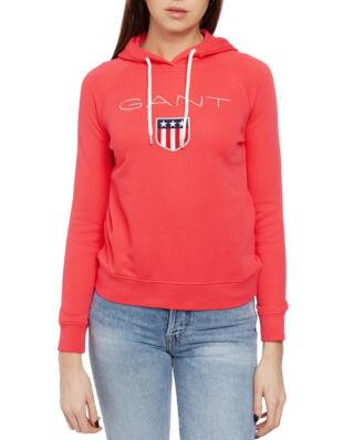 Gant Gant Shield Sweat Hoodie Watermelon Red