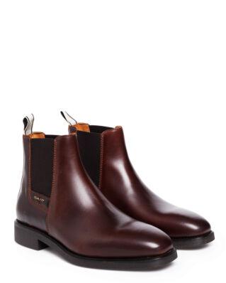Gant James Chelsea leather Sienna Brown