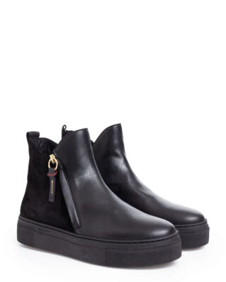Gant Marie Mid Zip boot Black