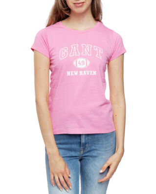 Gant MD. The Summer Logo SS T-shirt Pink Embrace