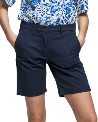 Gant O1. Classic Chino Shorts Marine