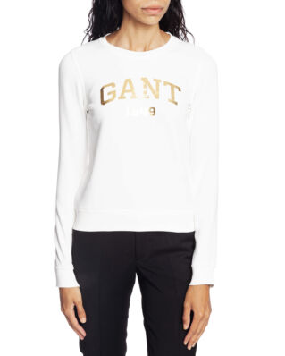 Gant O2. Gift Giving Logo Sweat Eggshell