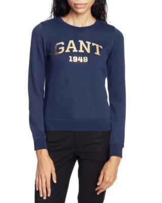 Gant O2. Gift Giving Logo Sweat Marine
